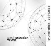 abstract vector background  ... | Shutterstock .eps vector #99443585