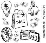 finance and money icons set....   Shutterstock .eps vector #99450314