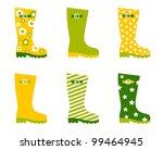 Spring Wellington Rain Boots...