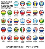 shiny web buttons with american ... | Shutterstock .eps vector #9946495