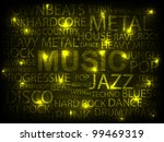 yellow music abstract... | Shutterstock .eps vector #99469319