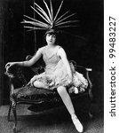 Portrait Of Female Dancer With...