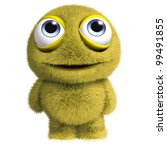 Yellow Furry Toy