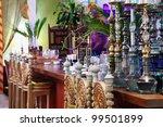 hookahs in eastern luxury... | Shutterstock . vector #99501899