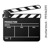 illustration of a clapper board ... | Shutterstock .eps vector #99546395