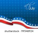 american flag  vector... | Shutterstock .eps vector #99548924
