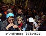 jerusalem   april 18  pilgrims...   Shutterstock . vector #99564611