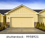 a new house for sale on a warm... | Shutterstock . vector #9958921