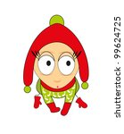 children's toy   the small boy | Shutterstock .eps vector #99624725