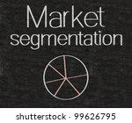 market segmentation written on... | Shutterstock . vector #99626795