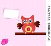 little sweet owl   Shutterstock .eps vector #99627989
