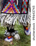 Native American Dancers At A...