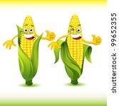 corn cartoon set | Shutterstock .eps vector #99652355