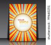 design for summer party flyer... | Shutterstock .eps vector #99660251