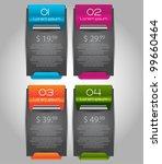 web sale banners | Shutterstock .eps vector #99660464
