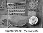 An Obsolete Vintage Wooden...