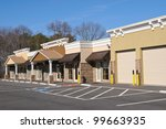 new commercial building with... | Shutterstock . vector #99663935