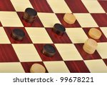detailed photo of the checkers... | Shutterstock . vector #99678221