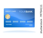 Isolated Credit Card