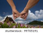 hand holding | Shutterstock . vector #99705191