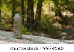 international  boundary marker. ... | Shutterstock . vector #9974560