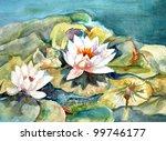 Original Art  Watercolor...