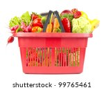 many products in shopping... | Shutterstock . vector #99765461