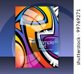 abstract cover design | Shutterstock .eps vector #99769271