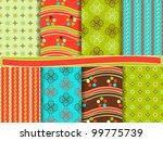 abstract vector set of... | Shutterstock .eps vector #99775739