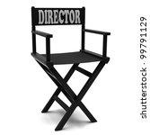 flim industry  directors chair... | Shutterstock . vector #99791129