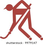 symbol of man playing...   Shutterstock .eps vector #9979147