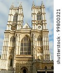 Westminster Abbey In A Sunny...