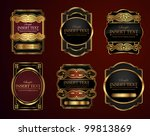 decorative ornate label... | Shutterstock .eps vector #99813869
