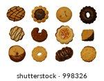 cookies | Shutterstock . vector #998326