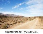 Dirt Road In Arid Region...