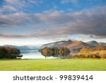 derwent waterand and skiddaw... | Shutterstock . vector #99839414