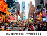 new york city  march 25  times... | Shutterstock . vector #99855551