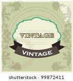 vintage | Shutterstock .eps vector #99872411