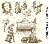 american home | Shutterstock .eps vector #99895061