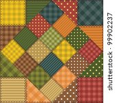 patchwork background with... | Shutterstock .eps vector #99902237