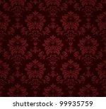 seamless floral pattern. | Shutterstock .eps vector #99935759