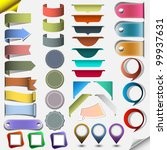 collection different web... | Shutterstock .eps vector #99937631