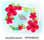 beautiful stylish digital... | Shutterstock .eps vector #99948965