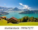 Beautiful View To Lake Lucerne  ...