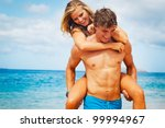 Attractive Young Couple On...