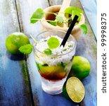 Постер, плакат: Cuba Libre Drink on