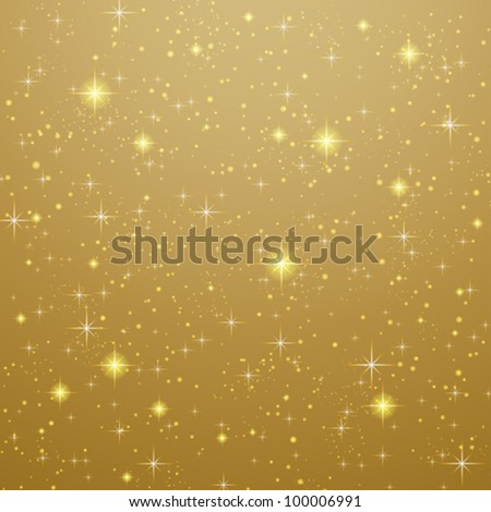 golden abstract background with