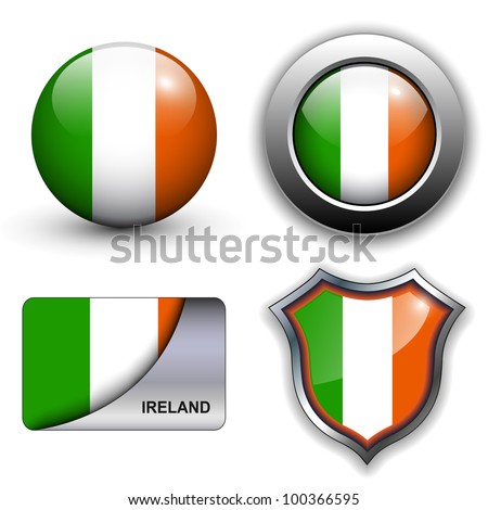 ireland flag icons theme