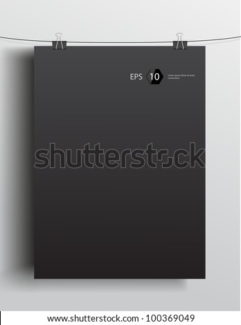 vector template of a paper