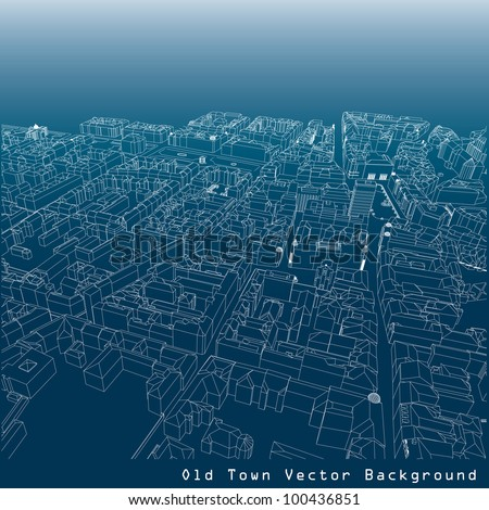 3d vector background of a